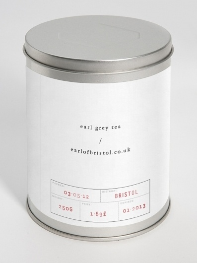 Concept Packaging: Earl /Â Grey - The Dieline: The World's #1 Package Design Website -