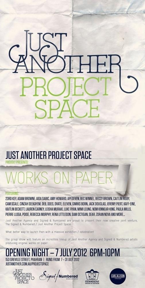 JAPS Launch #design #graphic #typography