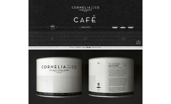 cornelia identity by Oriol gil www.mr cup.com #branding