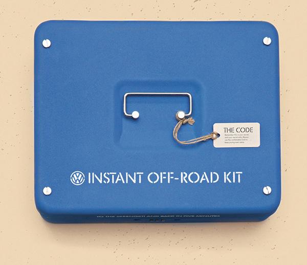 Volkswagen   Instant Off-Road Kit #branding #volkswagen #design #offroad #kit #vw