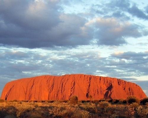 Picture of Uluru (Ayers Rock) #australia #uluru