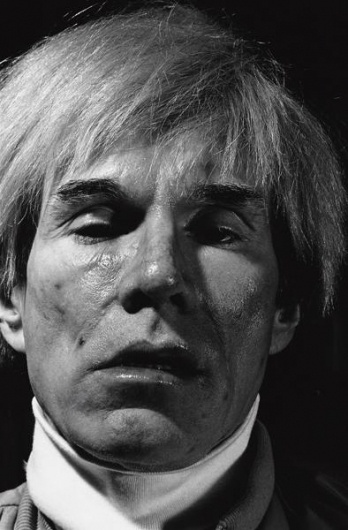 """WARHOL COLLECTION: """"Andy Warhol by Gottfried Helnwein"""" (1983) « THESE AMERICANS #andy #1983 #photo #warhol #portrait"""