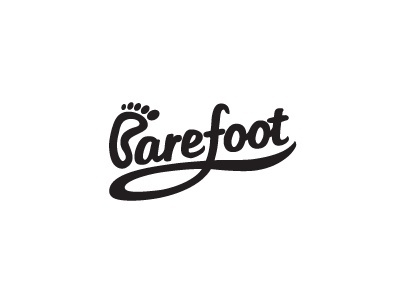 Dribbble - Barefoot by morecolor #type #brand #logotype #logo