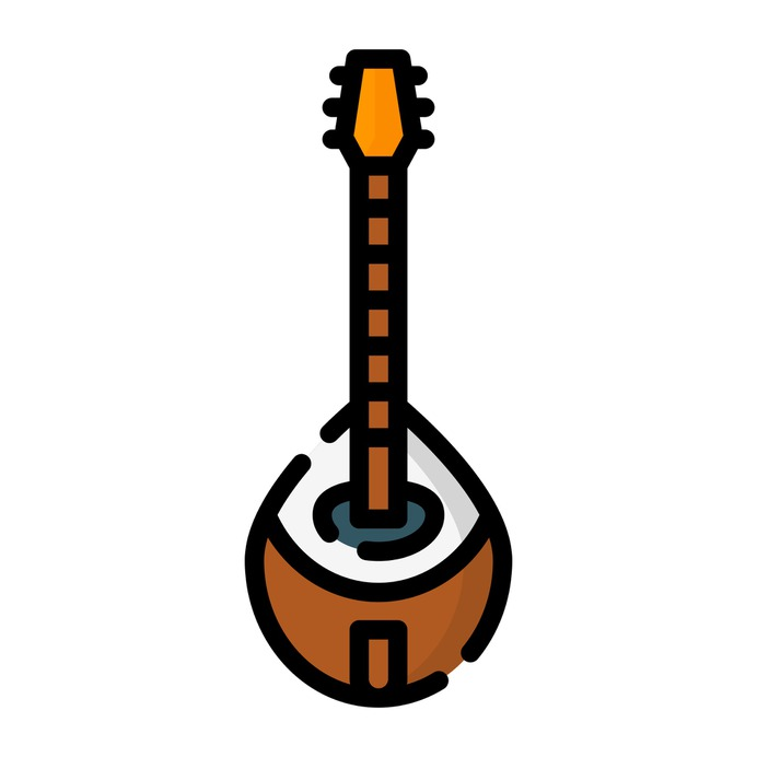 See more icon inspiration related to bouzouki, cultures, music and multimedia, folk, string instrument, musical instrument and orchestra on Flaticon.