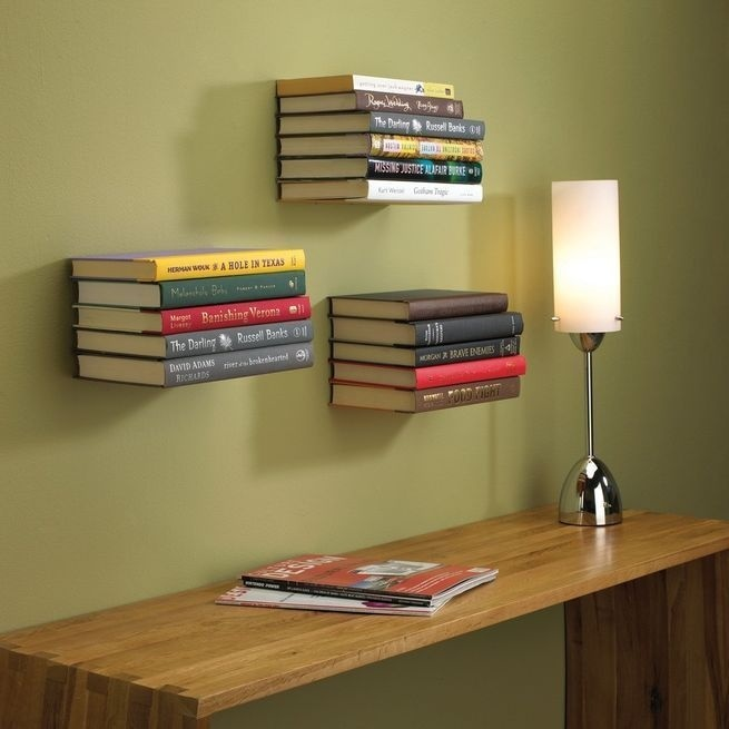 Bookshelves with minimalist design and expressive Conceal book shelf - www.homeworlddesign. com (9) #furniture #bookshelves