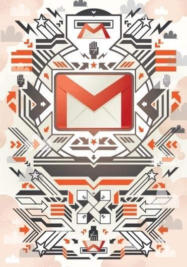 Google x Collabo Arts | STUBBORN SIDEBURN® #collabo #design #graphic #arts #illustration #series #poster #google
