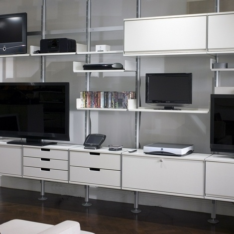 Modular Shelving System For Home, Office, Library Shelving And Retail  #vitsoe #dieter