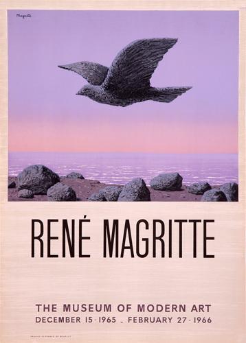 Rene Magritte - The Museum of Modern Art from kingandmcgaw.com #Art #Poster #ModernArt #Lithograph #Printing #Mourlot