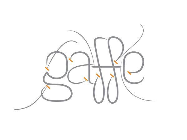 gaffe #fashion #logotype #identity