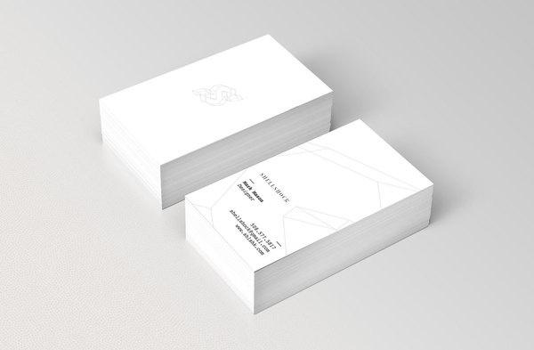 Shellshock Shellshock Identity #business #card #clean #simple #minimal #typography