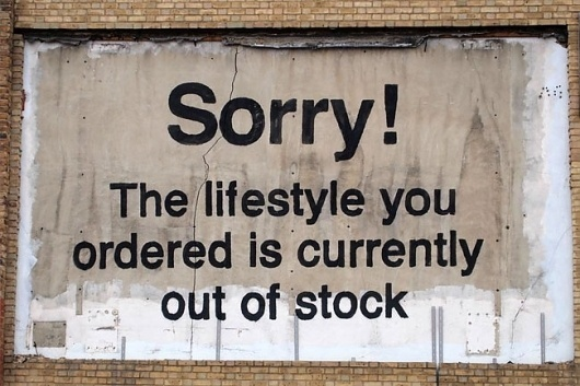 Banksy on advertising | David Airey, graphic designer #type