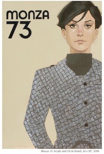 MONZA 73 #monza #73 #phil #women #noto #illustraion