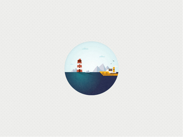 The Big Wide Word Icon set on Behance #ocean #sun #badge #textuillustrator #iconset #icon #illustrator #lighthouse #texture #iconre #pin #shape #boat