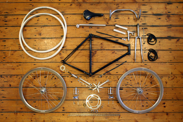 SUBMISSION:Â Anatomy Of A Fixed Gear Bicycle www.dukeharper.com #bicycles
