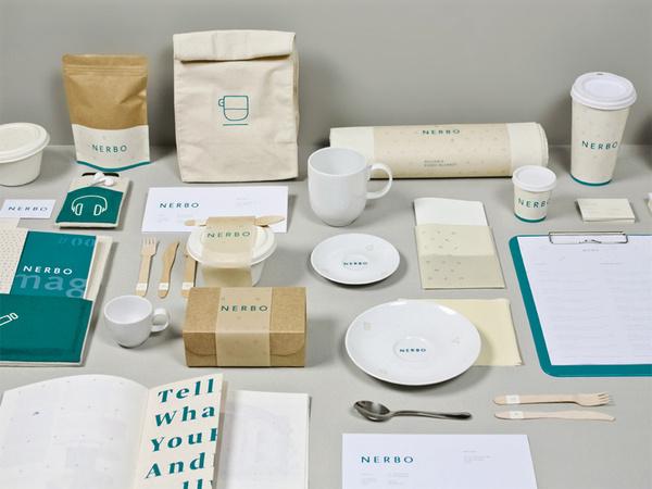 NERBO on the Behance Network #branding #nerbo #minimal #coffee #logo