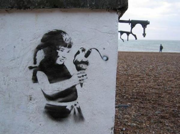 30 Pieces of Banksy Street Art #banksy #art #street