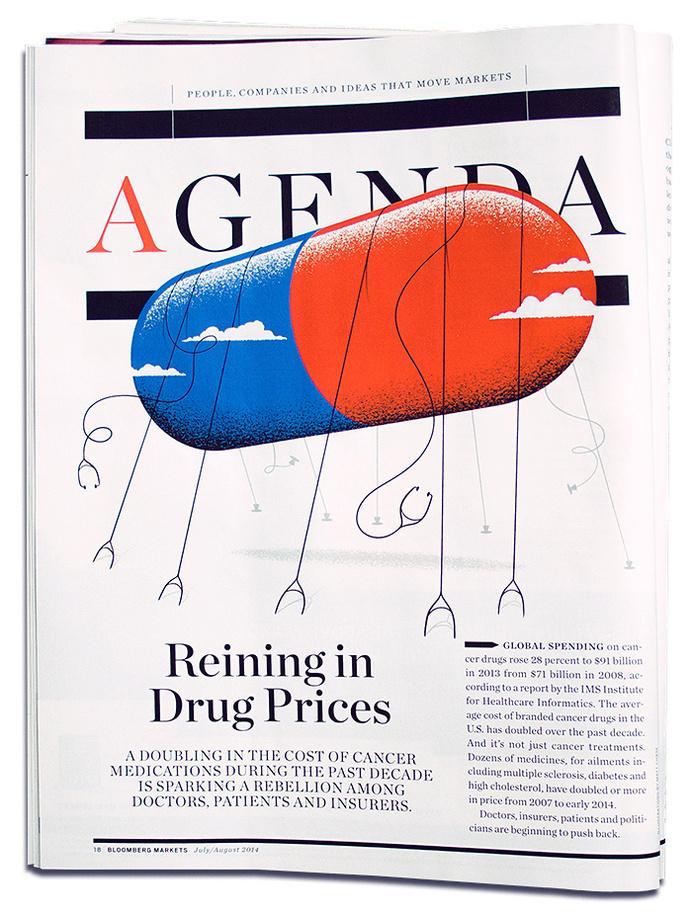 Bloomberg Markets - Matt Chase   Design, Illustration #illustration #editorial