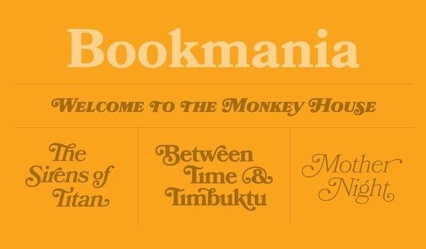 Bookmania Specimen #fonts #bookmania #typography