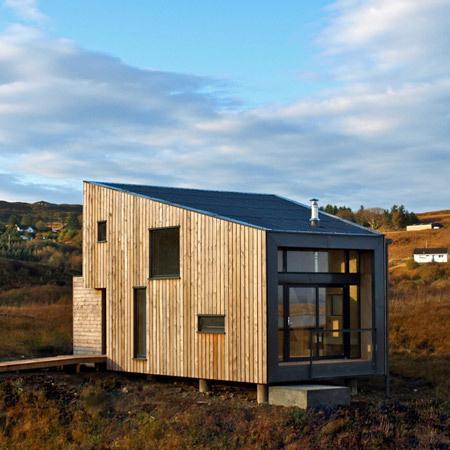 Fiscavaig Project by Rural Design Dezeen #wood #rural #home