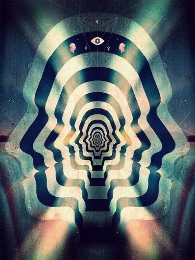 Leif Podhajsky's Psychedelic Art & Album Covers | Colossal #podhajsky #psych #trippy