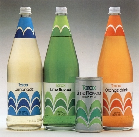 Item 194: Tarax packaging / Ken Cato Design Company / 1970s « Recollection #ken #cato #packaging #design #retro #vintage #1970s #company #tarax
