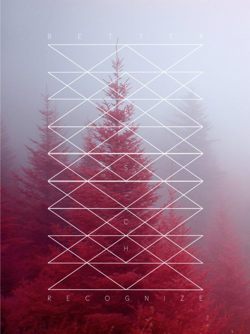 LINE WORK / Poster Design #graphic design #photography #red