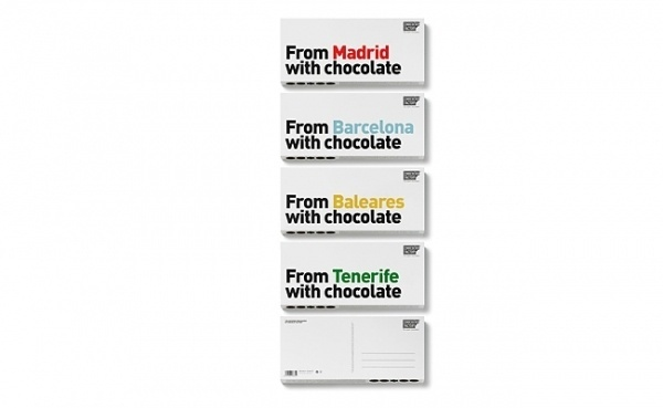 I from chocolate with love | Nicework Ramble #packaging #design #branding