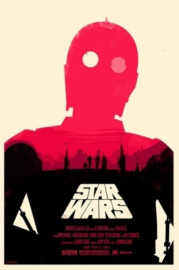 Star Wars posters by Olly Moss - BOOOOOOOM! - CREATE * INSPIRE * COMMUNITY * ART * DESIGN * MUSIC * FILM * PHOTO * PROJECTS #design #wars #star #poster #olly #moss