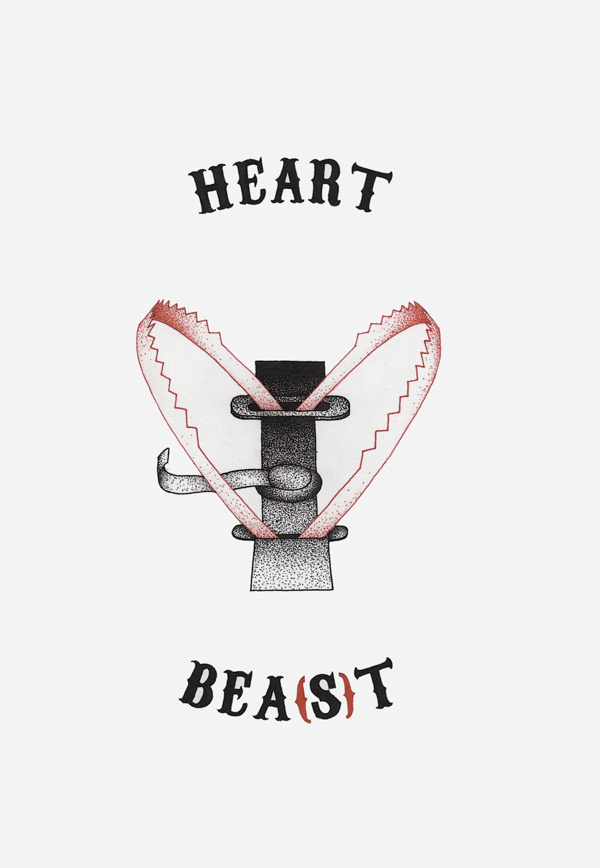 Heart bea(s)t #heart #red #beast #trap #ba #black #ck #dots