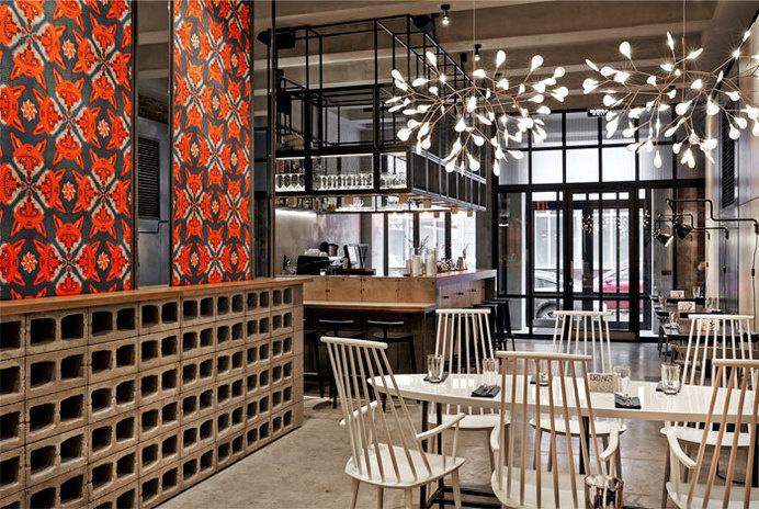 Holy Fox Restaurant in Moscow holy fox restaurant 1 #retail #design #decor #restaurant