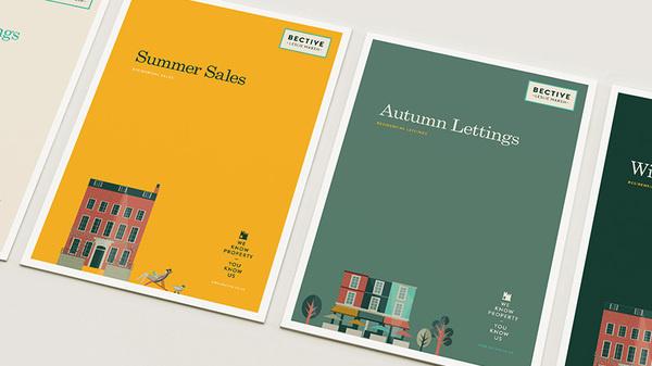 Bective Covers #branding #print #design #brand #illustration