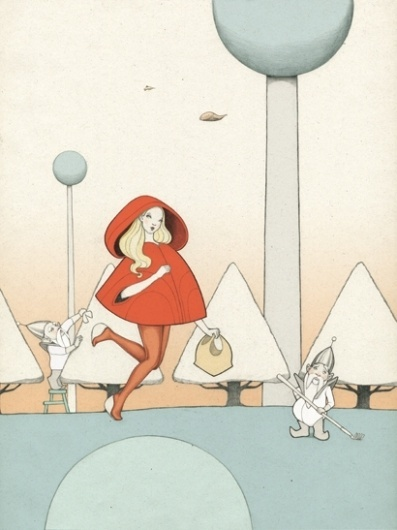 planet adventures / fairy-tale planet | Denise van Leeuwen #illustration #tale #fairy