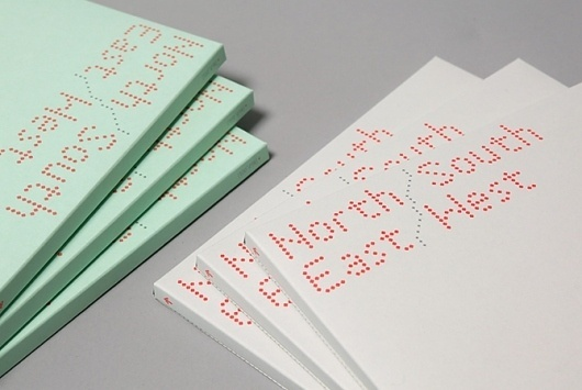 North / South / East / West: Give Up Art #design #package