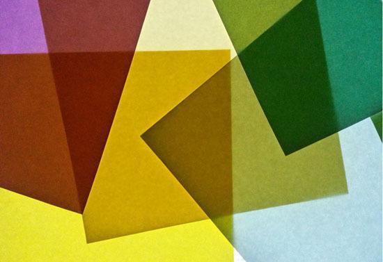 Experimental Work The Work of Amanda Morante #board #origami #collage #light #opacity