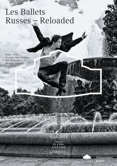 "STGU » Wybrane » FONS HICKMANN""Beyond the Norm"" #ballet #poster"