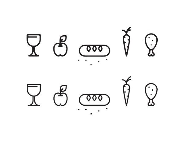 medieval market icon set preview2 #icon #picto #symbol