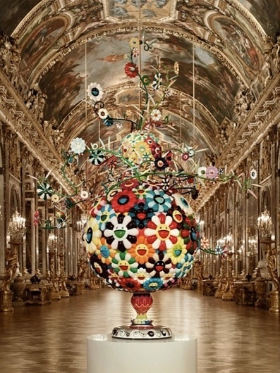 Takashi Murakami, Château de Versailles, 2010 - HOC