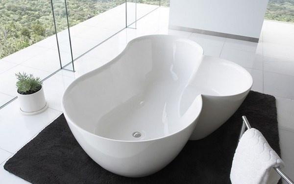 White clover tub with spiritual mode #artistic #bathroom #furniture #art #bathtub