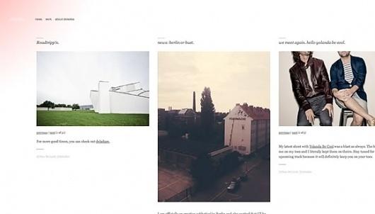 Cool Minimalist Website designs   DESIGNLANDER #simple