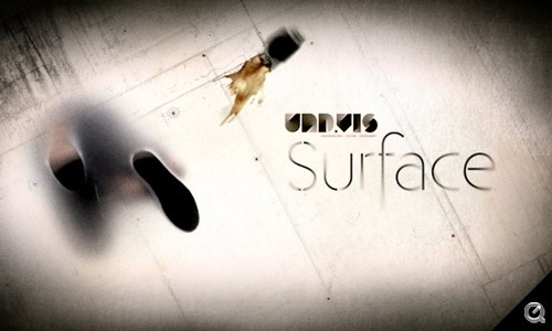 Surface: A film from underneath | 50ft #shoes #texture #glass #video #liquid #grunge #spill #typography