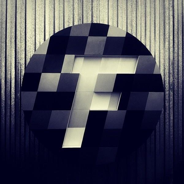FutureBrand São Paulo - The Creative Future Company. #circle #branding #icon #rebrand #brand #type #particles #typography