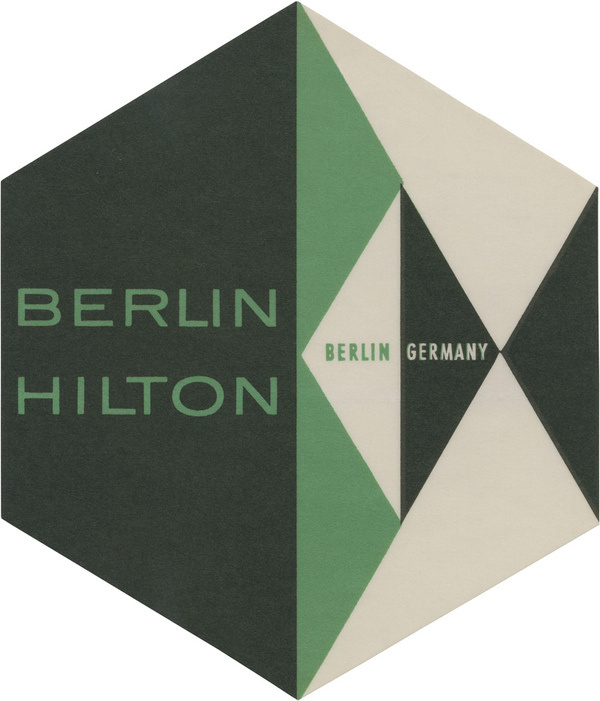 Berlin Hilton, Berlin (107mm × 91mm) | Flickr Photo Sharing! #type #layout #logo