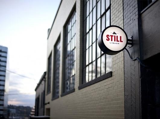Branding | Still Liquor « Layman's layout #signage #environmental #graphic #branding