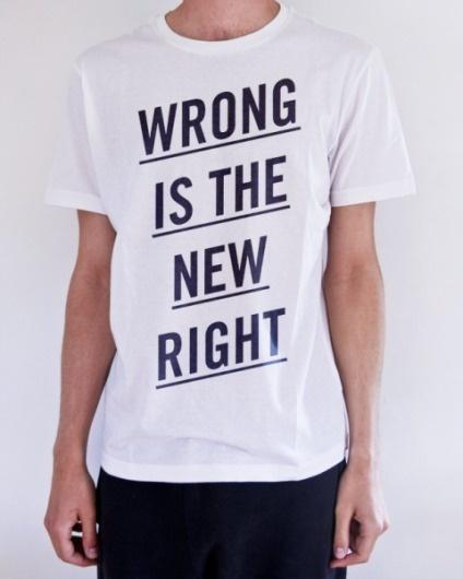 Benny Arts #wrong #typography #shirt #benny #arts #right #new