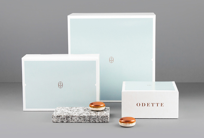 Odette by Dmowski & Co. #print #graphic design #box #packaging