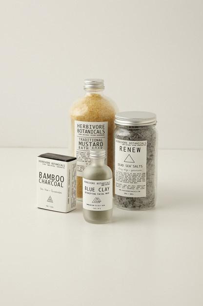 Herbivore Botanicals Clay Soap Bar #botanical #branding #design #medicine #product
