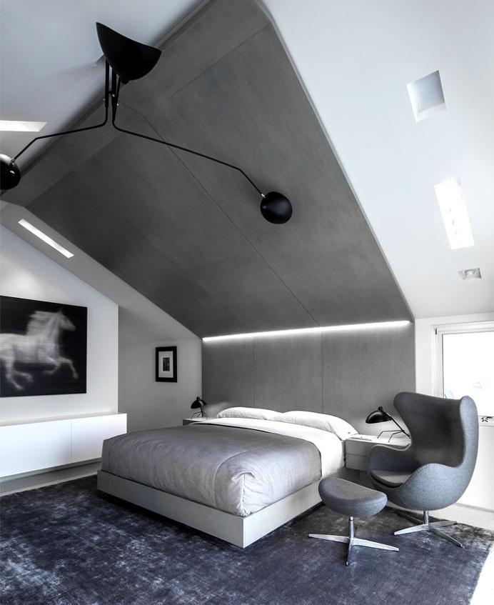 Sunny and Elegant Montee Karp Residence - #bedroom, #interior, #decor, home, bedroom