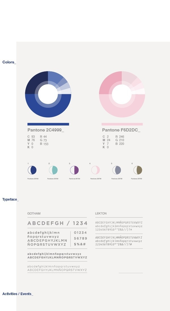 Cósmico_ on Behance #guides #brand
