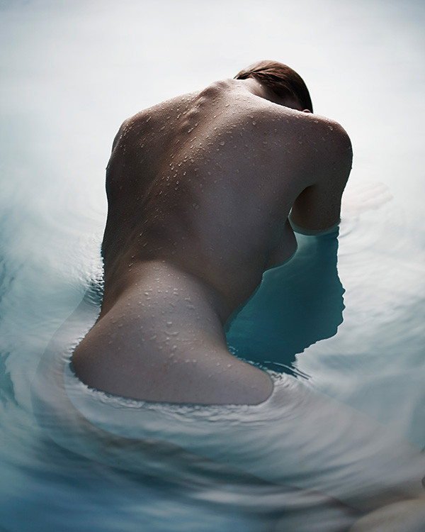 The Naked and the Nude on Behance #ripples #bathe #water #nude #sensuality #human #female #surface #photography #figure #submerge #underwater #naked #beauty