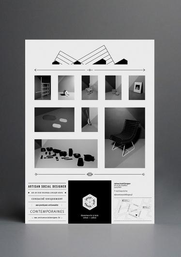 Nøne Futbol Club   Making the everyday look supernatural   Art & Design Studio, Paris #grid #identity #blackwhite